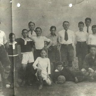 Fudbalaski klub Amerika sastavljen od štićenika Džona Frotingama u Vranju