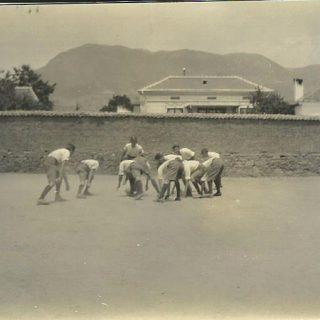 Čas fizičkog vaspitanja u domu 1924.