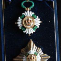 Dva odlikovanja Jugoslovenske krune, jedna 1931. za drugu se ne zna godina dodele