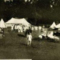 Frotingamovi štićenici u Đevđeliji 1915. smešteni u šatorima i njegovoj bolnici u magacinu duvana